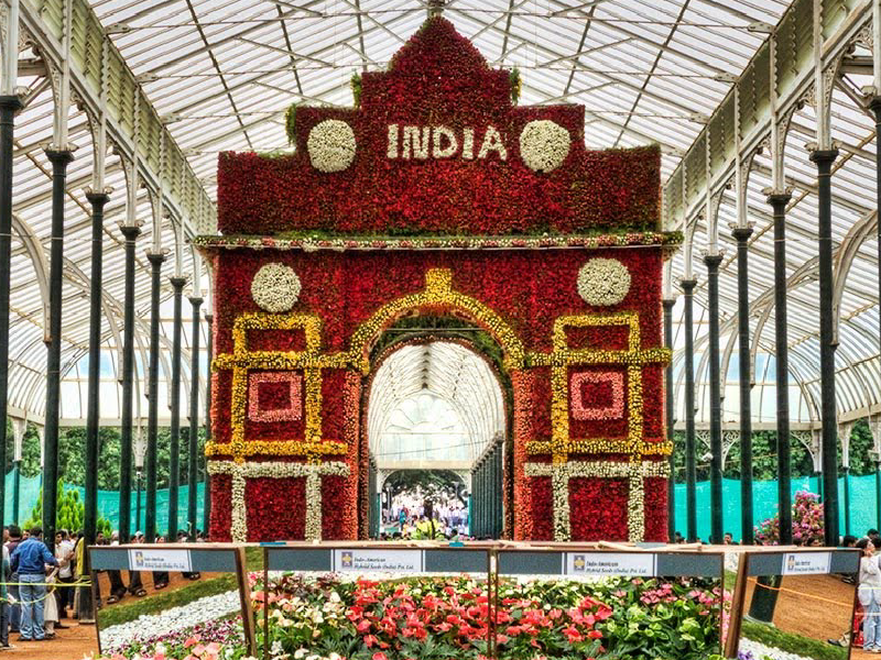 Lalbagh Independence Day Flower Show – 2013