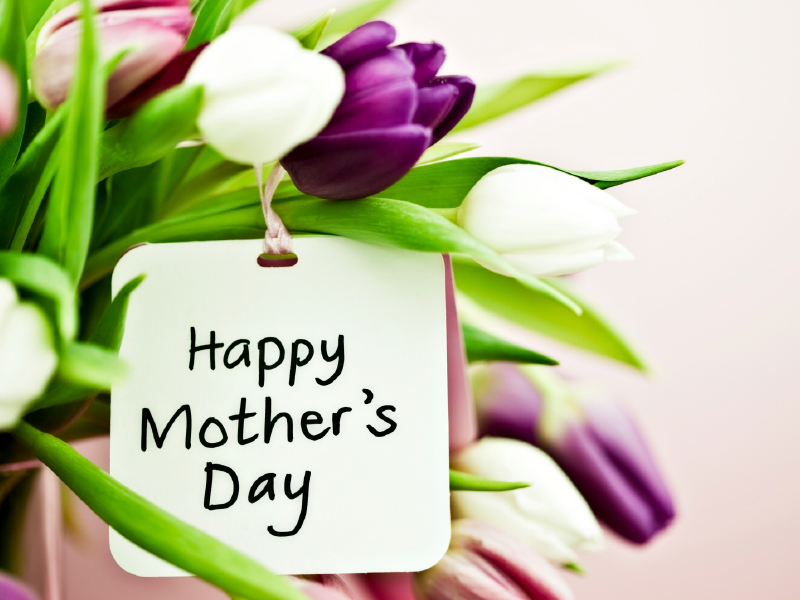 Mother's Day is on Sunday, the May 11th this year!